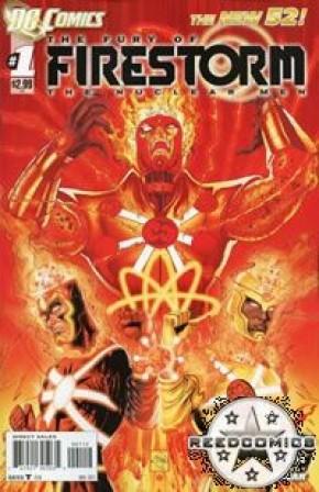 The Fury of Firestorm (2011) #1 (2nd Print)