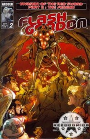 Flash Gordon Invasion of the Red Sword #2 (Cover B)