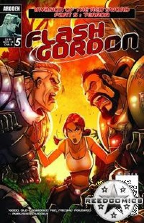 Flash Gordon Invasion of the Red Sword #5