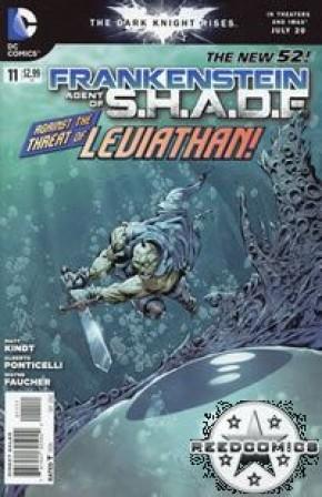 Frankenstein Agent of Shade #11