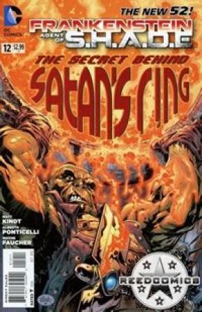 Frankenstein Agent of Shade #12