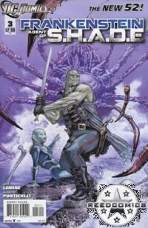 Frankenstein Agent of Shade #3