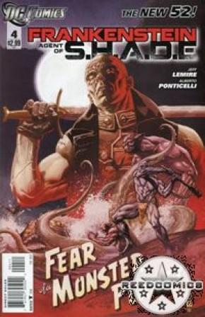 Frankenstein Agent of Shade #4
