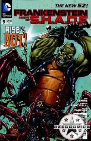 Frankenstein Agent of Shade #9