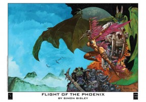 Flight of the Phoenix by Simon Bisley
