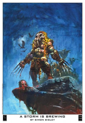 A Storm is Brewing by Simon Bisley
