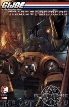 GI Joe vs Transformers Volume 3 #1 (Cover B)
