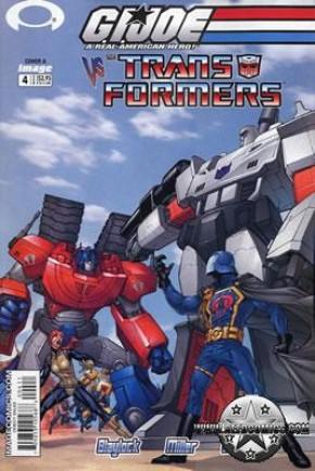 GI Joe vs Transformers Volume 1 #4 (Cover A)