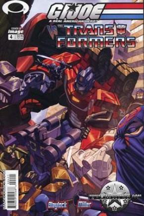 GI Joe vs Transformers Volume 1 #4 (Cover B)