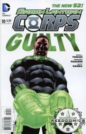 Green Lantern Corps Volume 3 #10