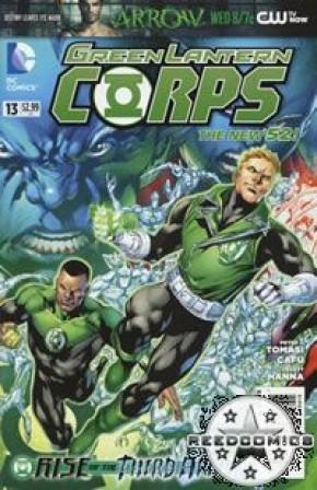 Green Lantern Corps Volume 3 #13