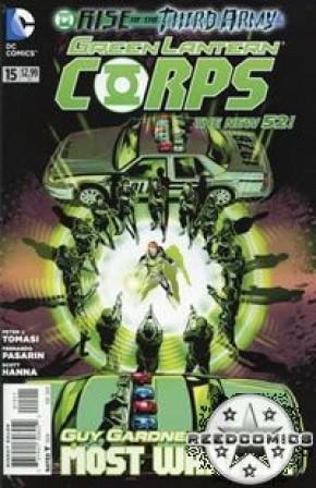 Green Lantern Corps Volume 3 #15