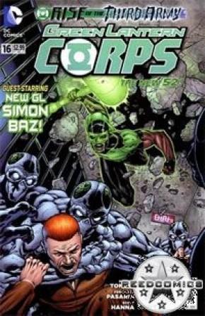 Green Lantern Corps Volume 3 #16