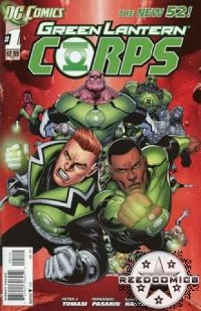 Green Lantern Corps Volume 3 #1 (2nd Print)