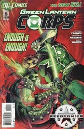 Green Lantern Corps Volume 3 #5