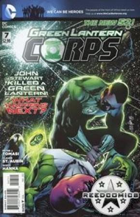 Green Lantern Corps Volume 3 #7