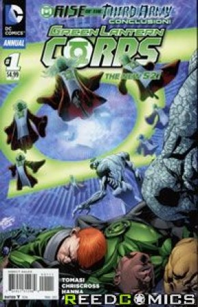 Green Lantern Corps Volume 3 Annual #1