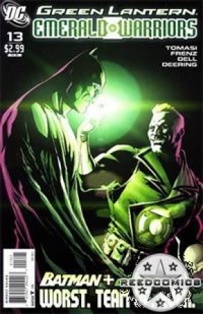 Green Lantern Emerald Warriors #13 (1 in 10 Incentive)