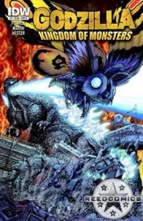 Godzilla Kingdom of Monsters #4 (Cover B)