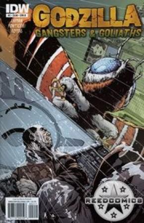 Godzilla Gangsters & Goliaths #2 (Cover B)