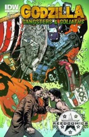 Godzilla Gangsters & Goliaths #3 (Cover B)