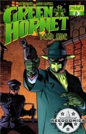 Green Hornet Year One #6