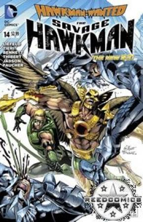 The Savage Hawkman #14