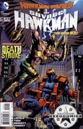 The Savage Hawkman #15