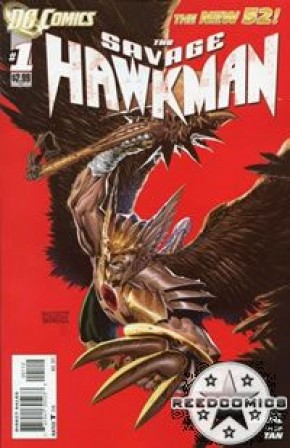 The Savage Hawkman #1 (2nd Print)