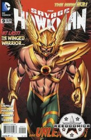 The Savage Hawkman #9