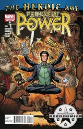 Heroic Age Prince of Power #4