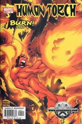 Fantastic Four Human Torch #4