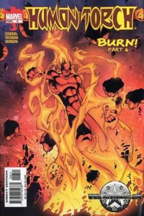 Fantastic Four Human Torch #6