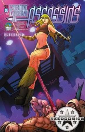 Executive Assistant Assassins #3 (Cover B)
