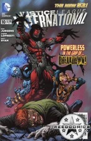 Justice League International (2011) #10