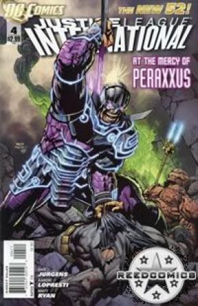 Justice League International (2011) #4