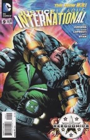 Justice League International (2011) #9