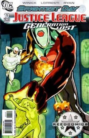 Justice League Generation Lost #11