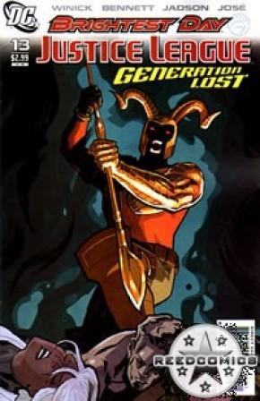 Justice League Generation Lost #13