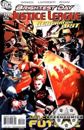 Justice League Generation Lost #14
