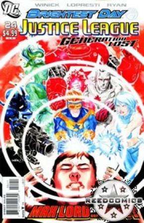 Justice League Generation Lost #24
