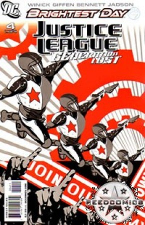 Justice League Generation Lost #4