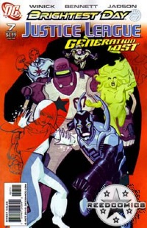 Justice League Generation Lost #7