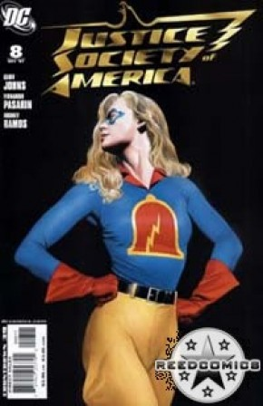 JSA: Justice Society of America Comics (New Series) #8