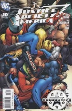 Justice Society of America #10 (1:10 incentive)