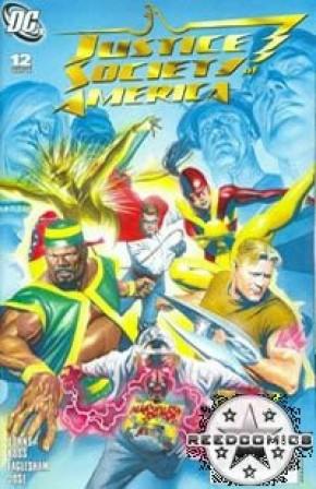 JSA: Justice Society of America Comics (New Series) #12