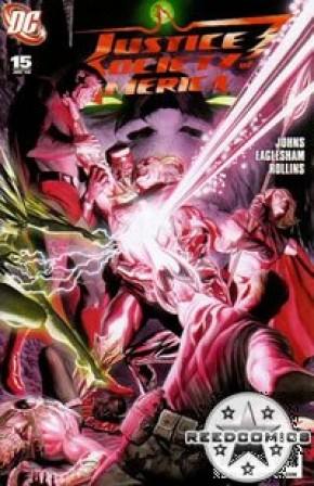 JSA: Justice Society of America Comics (New Series) #15