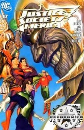 JSA: Justice Society of America Comics (New Series) #17