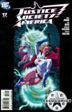 Justice Society of America #17 (1:10 incentive)