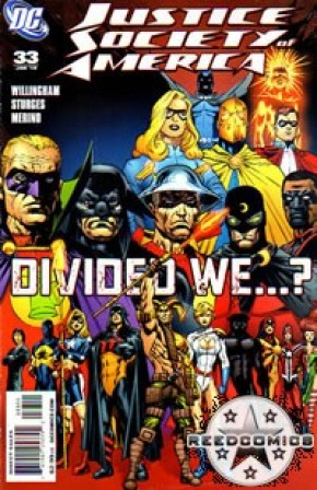 Justice Society of America #33